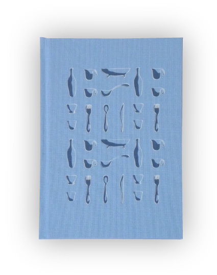 Blank Journal with Kitchen Utensils Design