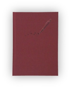 Blank Journal with Pen Design