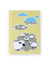 Blank Journal with Sheep Design