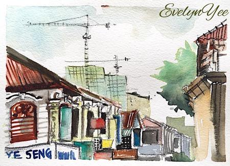 Penang shophouses_evelynyee