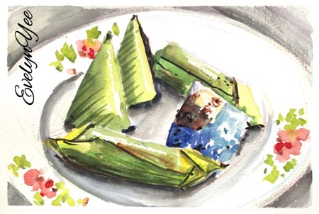 malaysian. kueh by evelyn yee