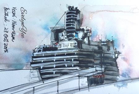 MV Noordam cruise by Evelyn Yee