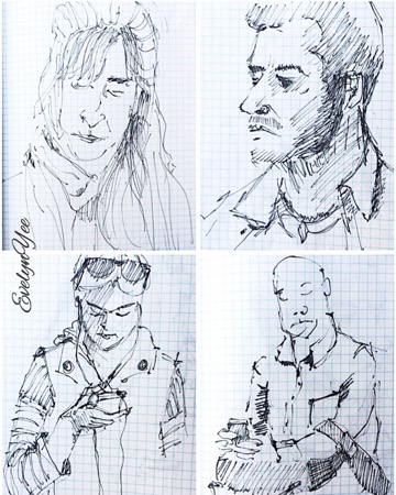 portraits by evelynyee