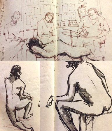 life drawing by evelyn yee