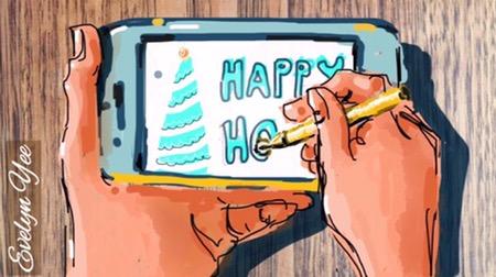digital art on iphone by evelynyee