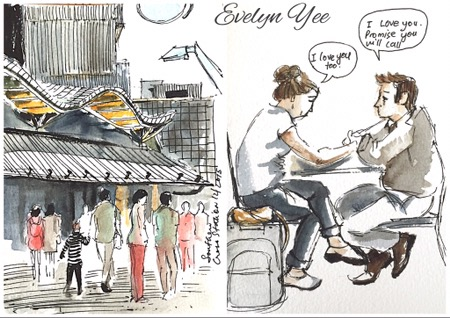 southern cross station by evelynyee