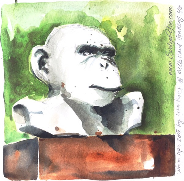 White Ape by Lisa Roet.