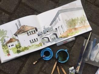 Lawang Sewu by Evelyn Yee