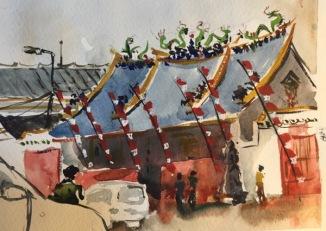 Tay Kak Sie temple  by Evelyn Yee