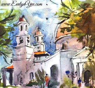 Blenduk Church by Evelyn Yee