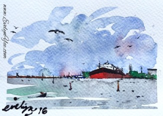 Port Melbourne  by Evelyn Yee