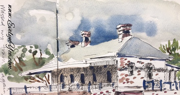 Port Melbourne old railway station by Evelyn Yee