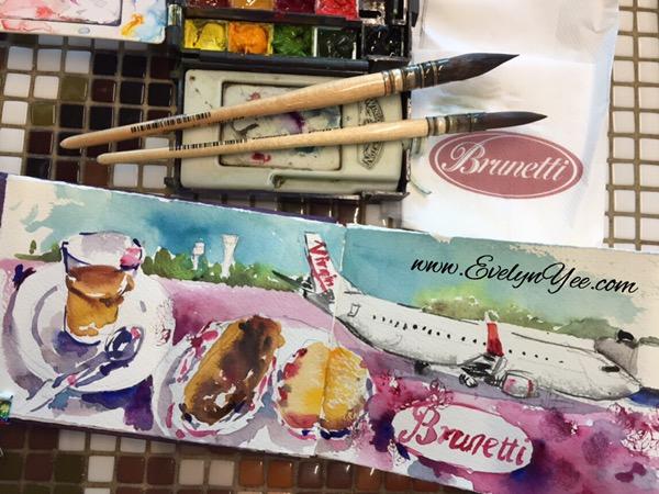 Breakfast at Brunetti by Evelyn Yee