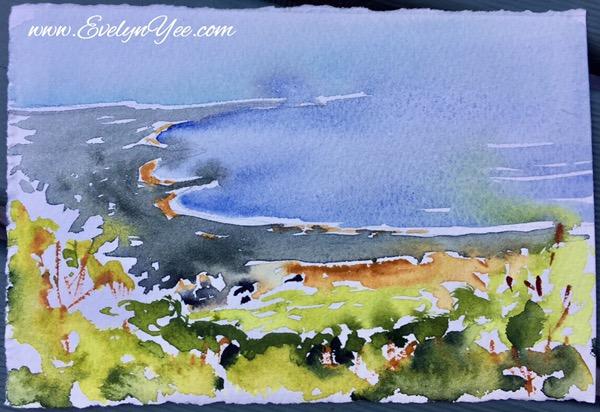 Tasmania coast by Evelyn Yee