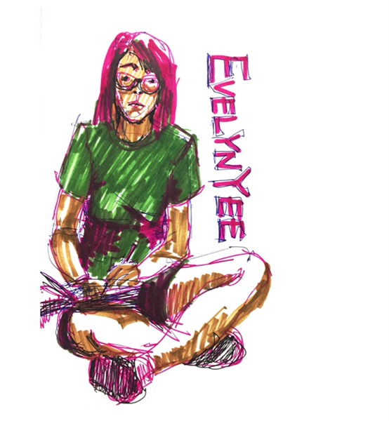 Self portrait by Evelyn Yee