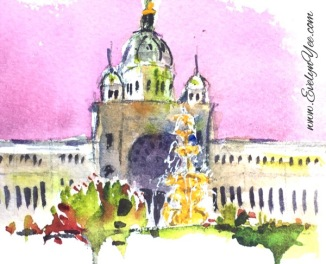 Royal Exhibition Building by Evelyn Yee
