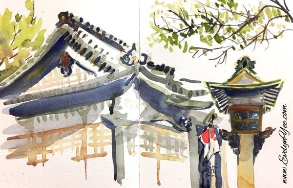 Ishiura Shrine in Japan by Evelyn Yee