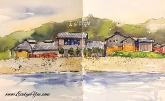 Uno Port onsen by Evelyn Yee