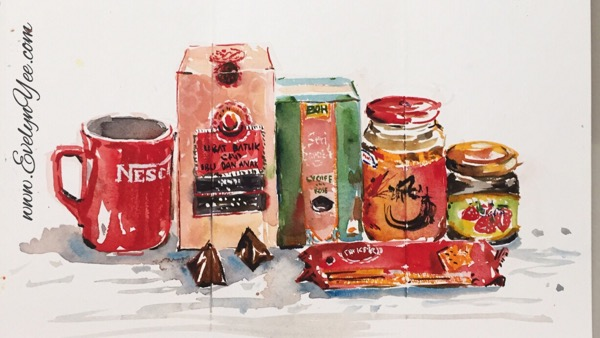 Everyday food in Malaysia by Evelyn Yee