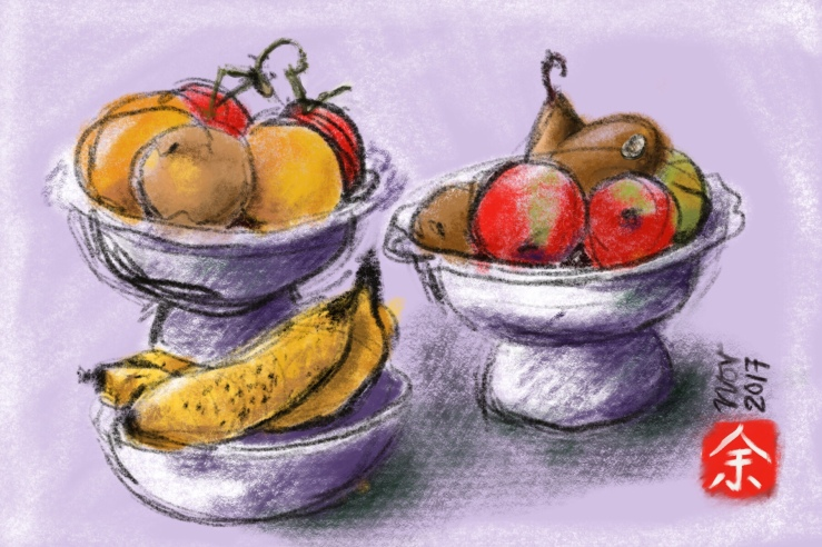 Still life with IPad Pro By Evelyn Yee