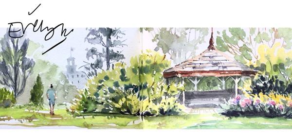 Botanic Gardens Landscape by Evelyn Yee