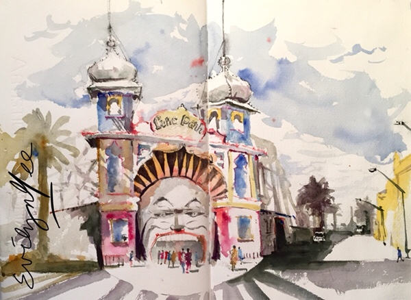 Luna Park by Evelyn Yee