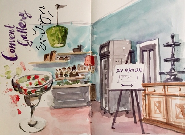 Bad Habits Cafe by Evelyn Yee