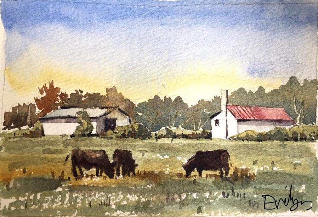 Landscape by Evelyn Yee 2018