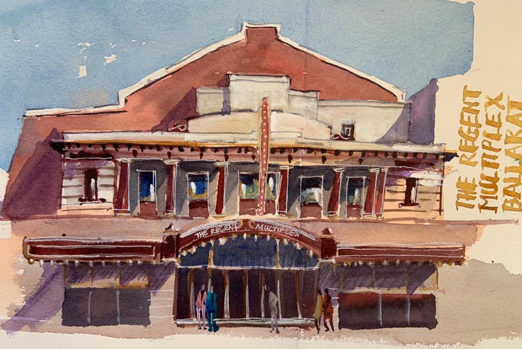 Ballarat sketch by Evelyn Yee