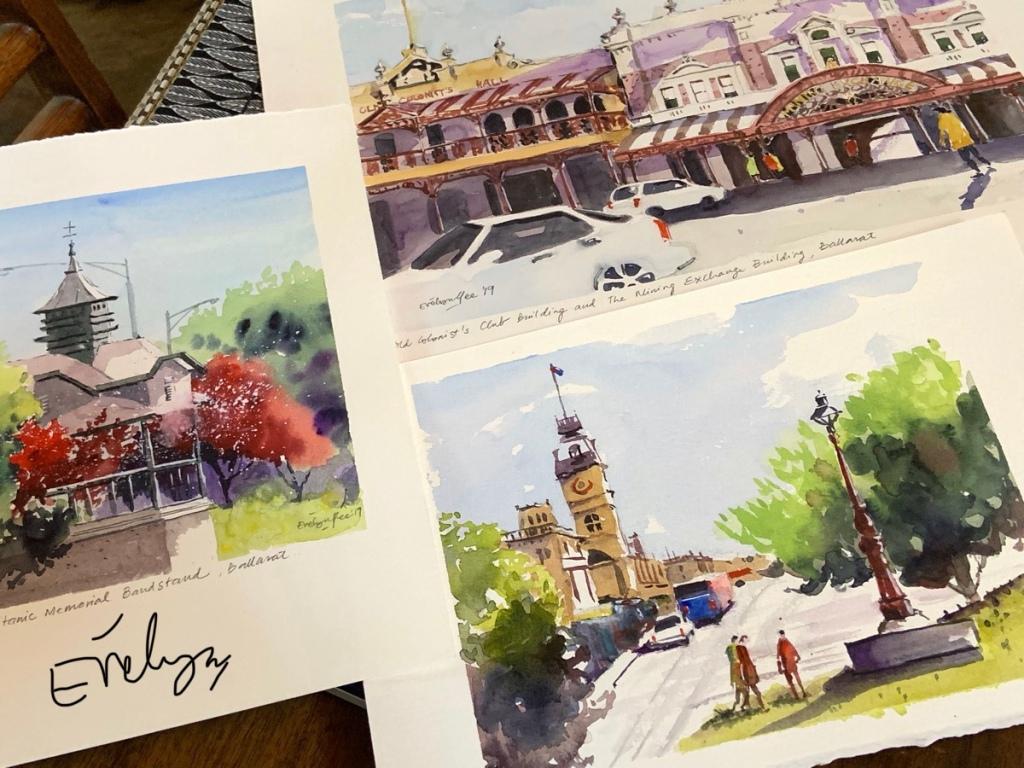 Ballarat scenes by Evelyn Yee
