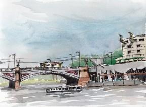 Watercolour, Hamer Hall, $180