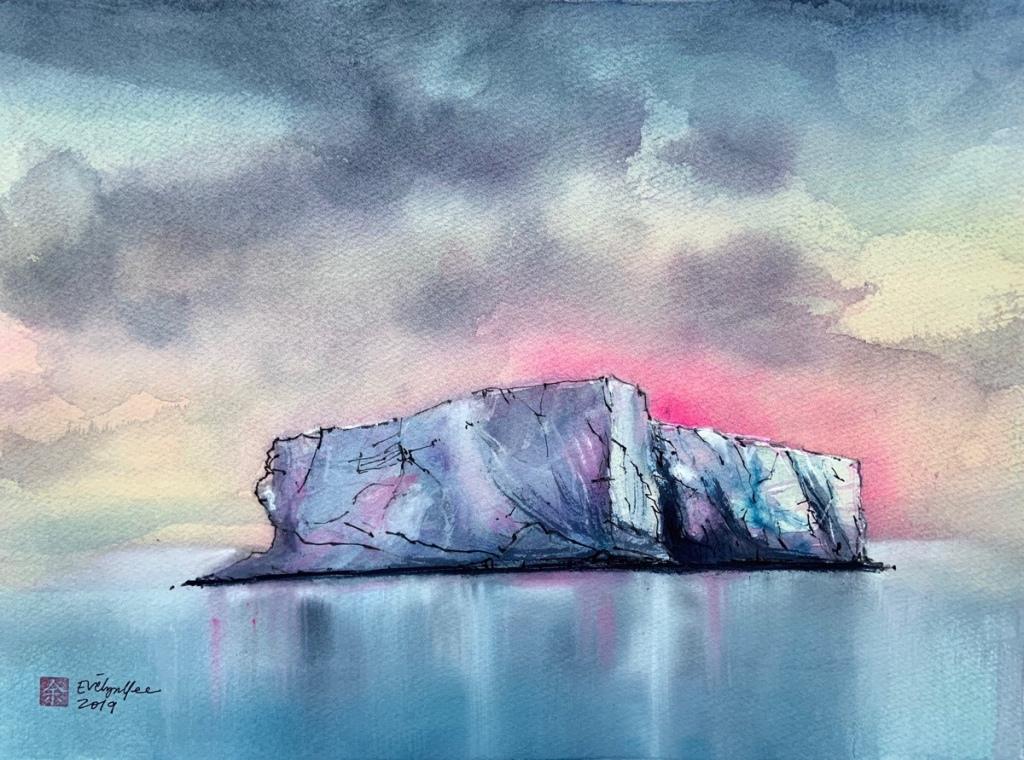 Iceberg in Antarctica by Evelyn Yee