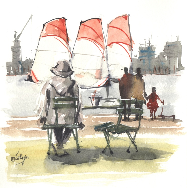 Boats by Evelyn Yee